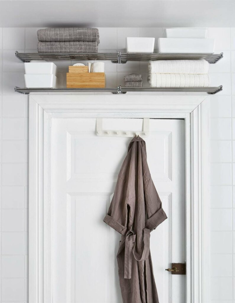 storage for towels