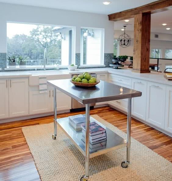 small kitchen ideas with island