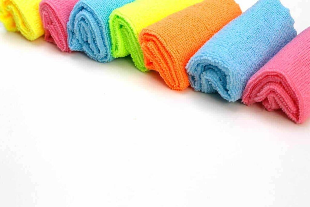 Tips for storing towels