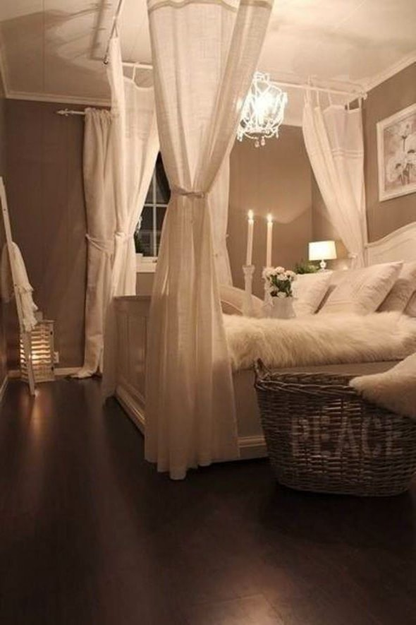23-Romantic ideas for the bedroom