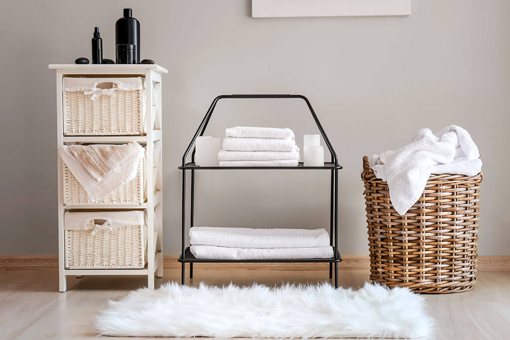 Tips for storing towels and avoiding mistakes