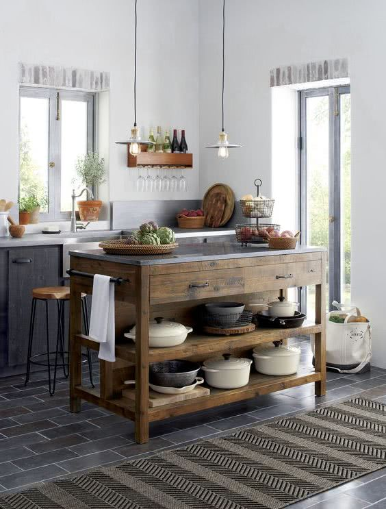 kitchen island small space