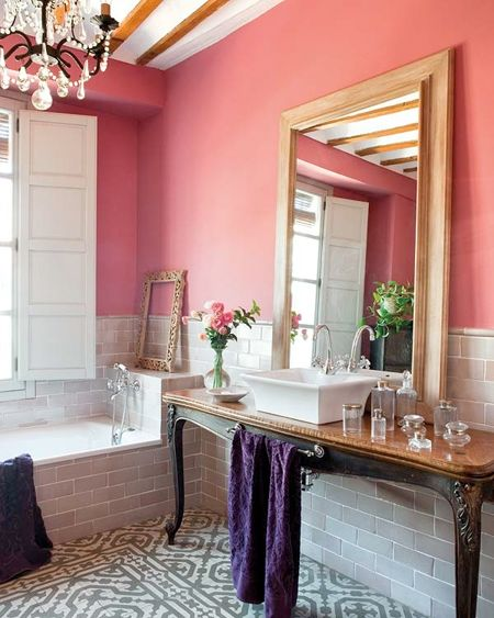 Guide to painting a bathroom