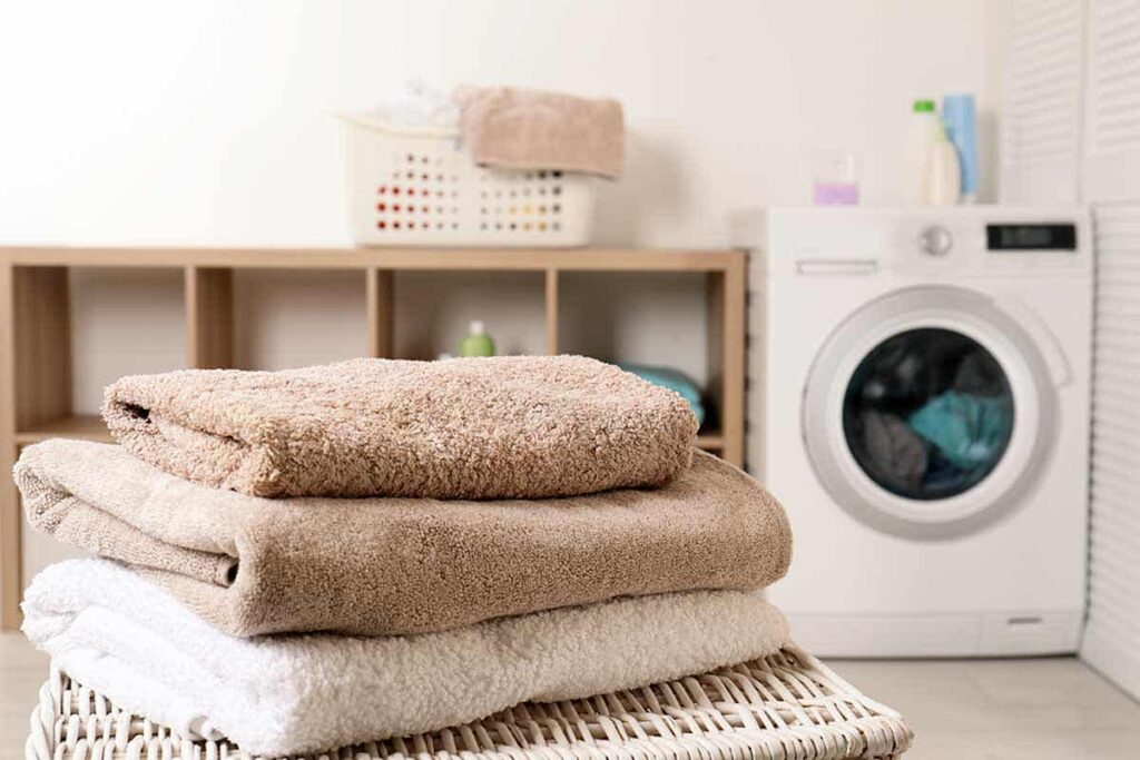 How to take care of the towels?
