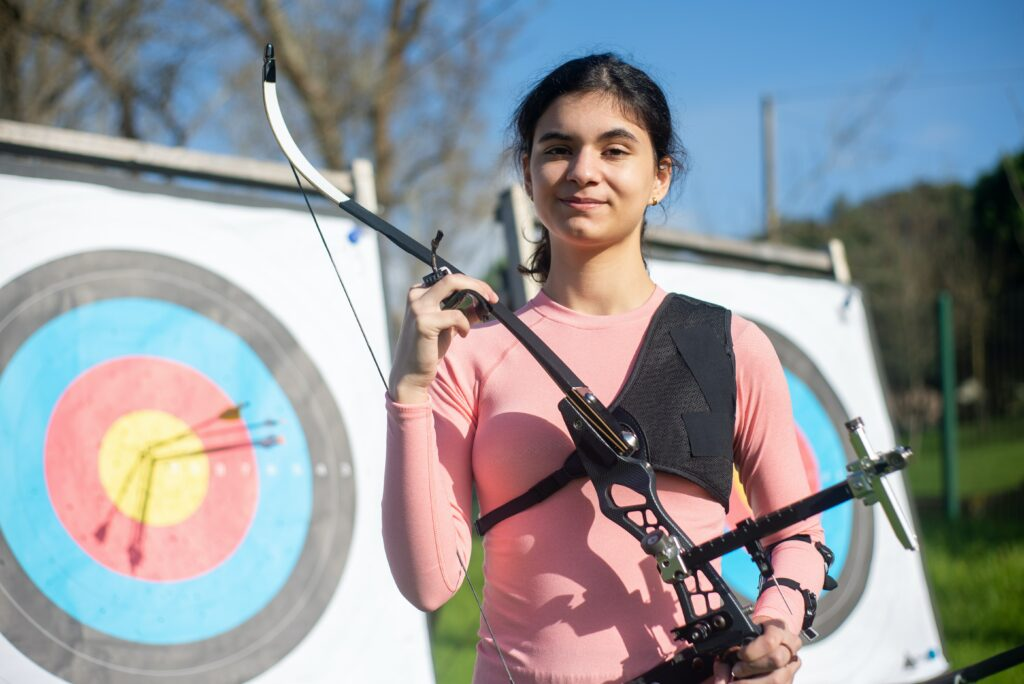 The cost of an archery lesson