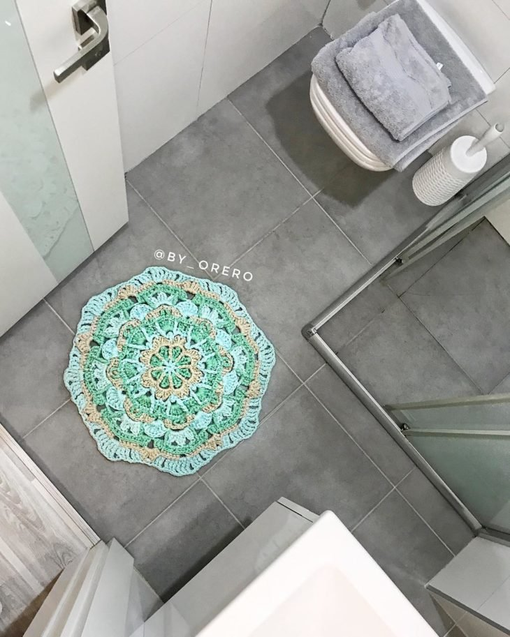 bathroom rugs for small spa