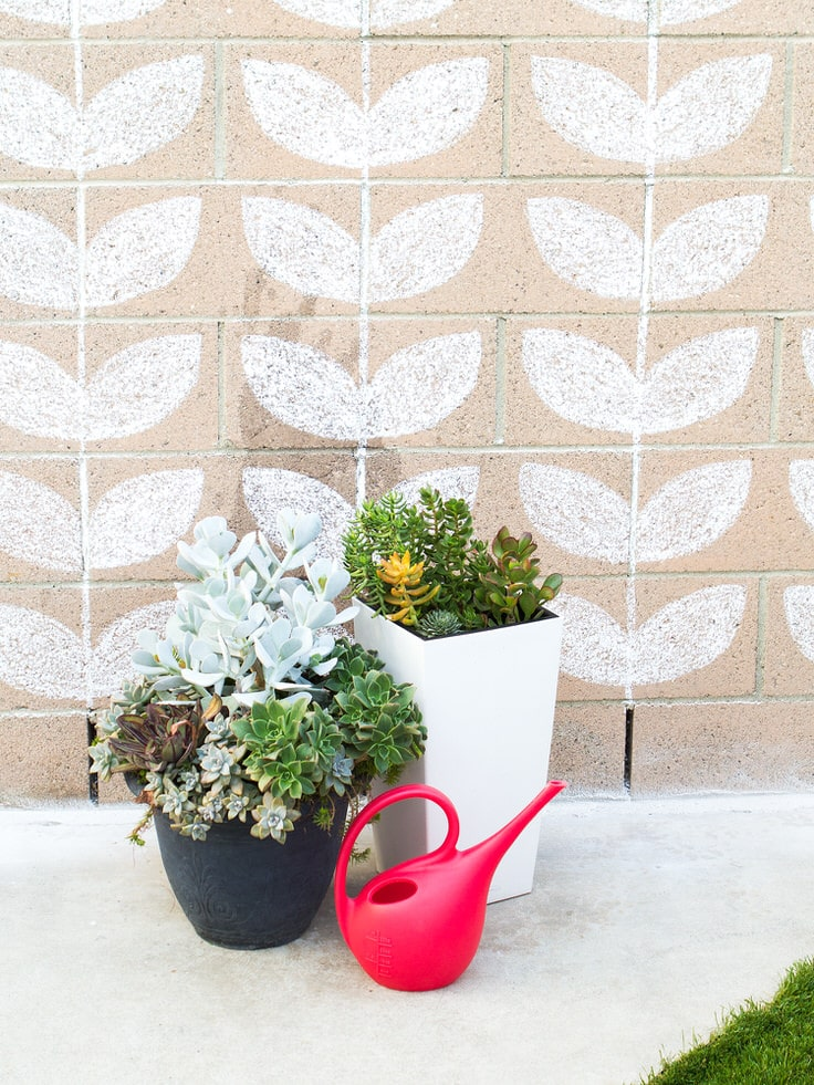 3. Draw pretty patterns on the wall
