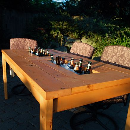 BUILD A BEER TABLE