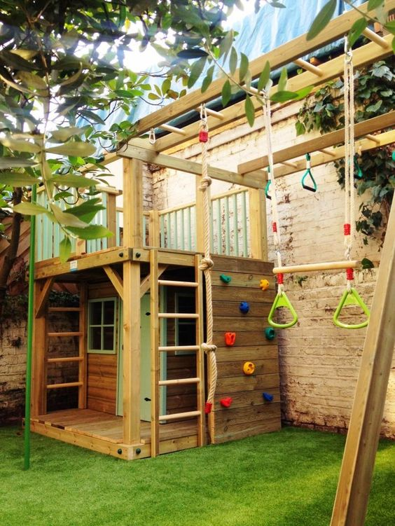 BUILD THE PARK FOR YOUR CHILDREN INDOORS