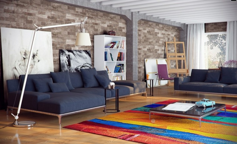 ideas to decorate a living room wall carpet modern colors
