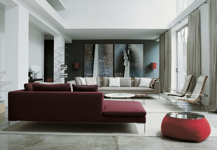ideas to decorate a living room wall large modern sofa