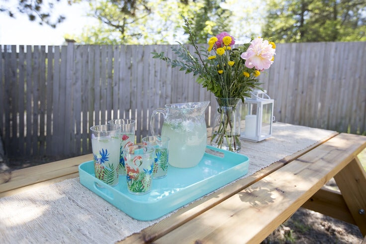 6. A picnic table to make yourself