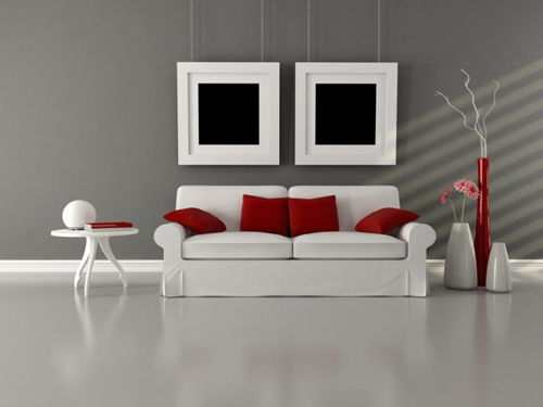 living room-in-gray-and-white