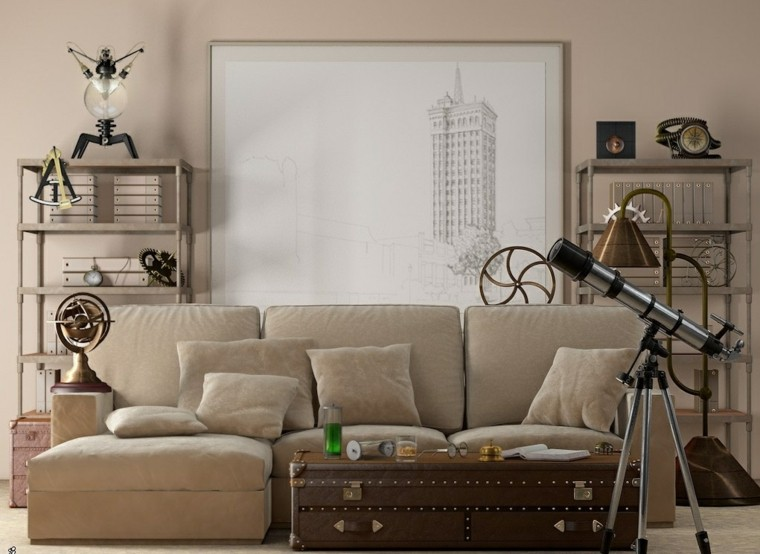 modern living room wall decorated beige color picture ideas