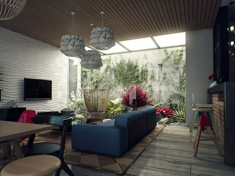 modern living room wall decorated white color beautiful ideas