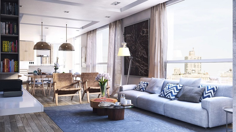 modern living room wall decorated black picture ideas