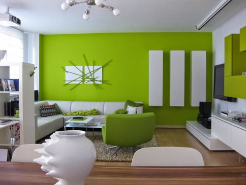green-color-room