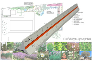draw to scale, garden plans, architectural plans, scales