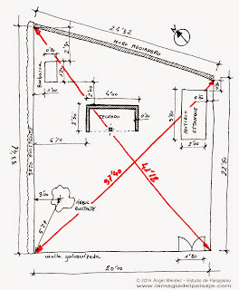 how to make a sketch, garden drawing, freehand drawing